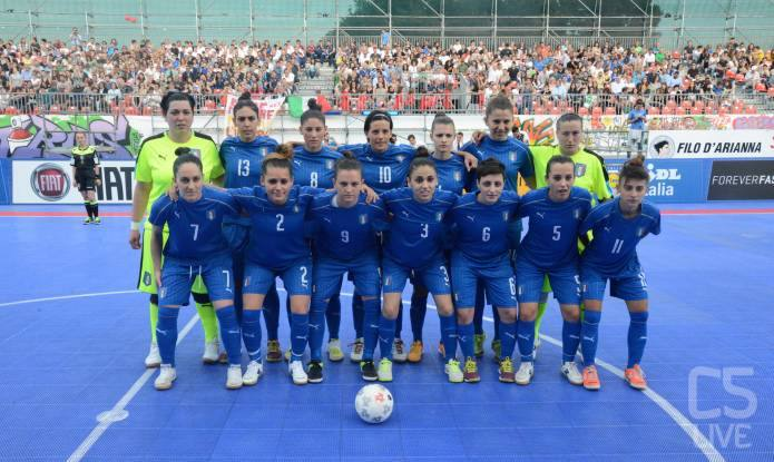 Vai all'articolo: #MilanoFutsalWeek, set e match all'Italfutsal femminile con la Slovacchia VIDEO