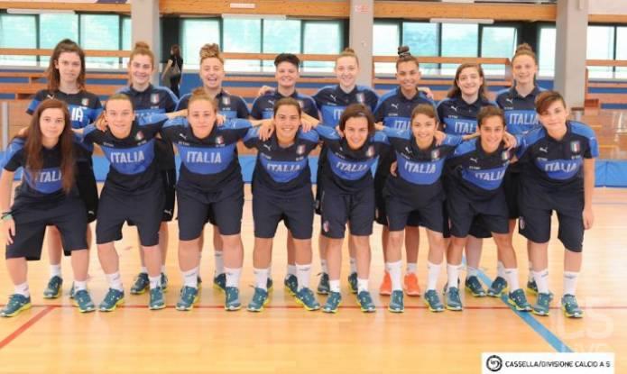 Nazionale U17 Femminile: 15 convocate per il torneo UEFA a Campobasso