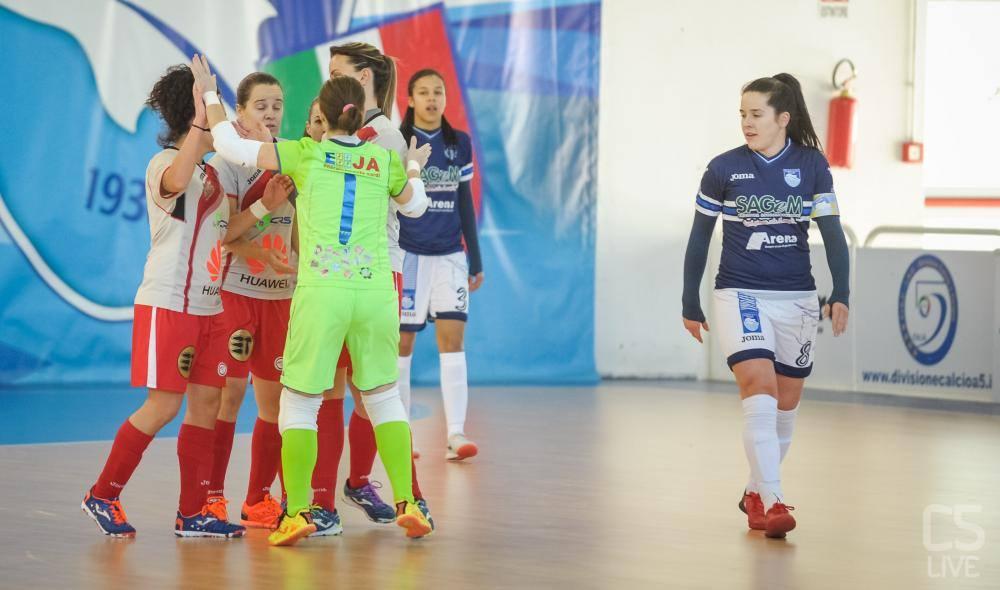 #SerieAfemminile, Marta sbanca il PalaRigopiano: 4-3 ...